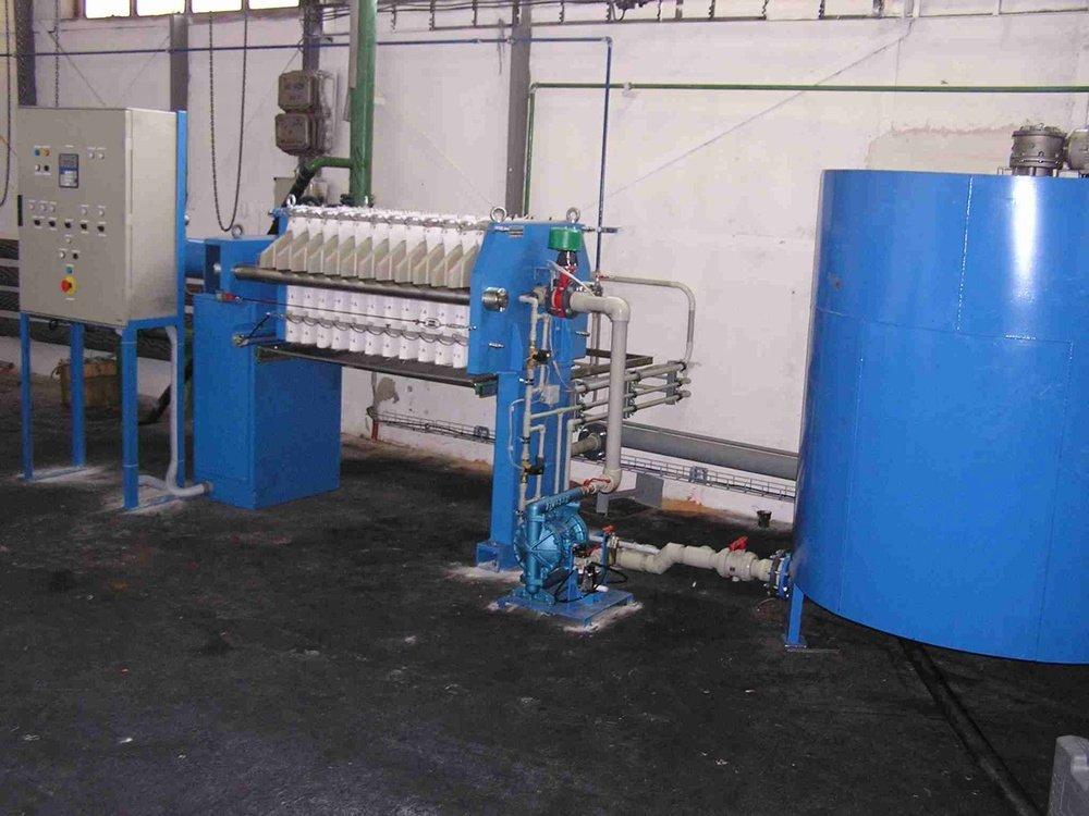 ČOV Vítkovice<br />Výroba tlakových lahví.
