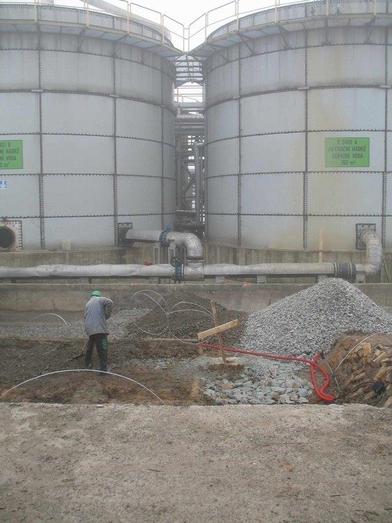 Rekonstrukce biologických nádrží<br />Spolchemie Ústí