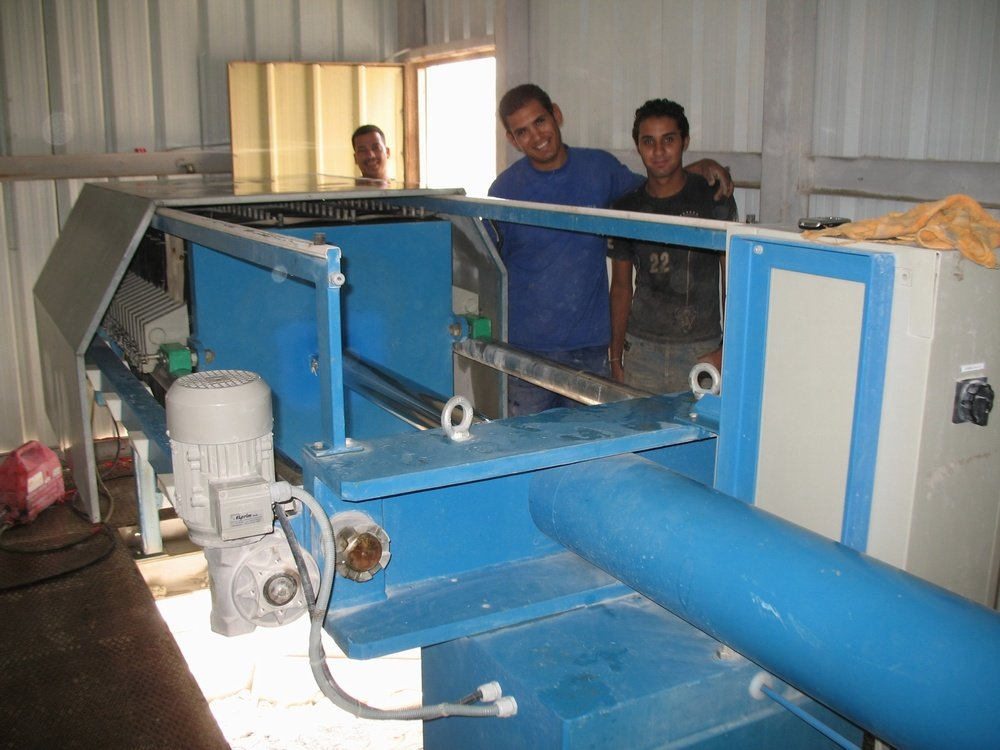 kalolis na odvodnění<br />Egypt