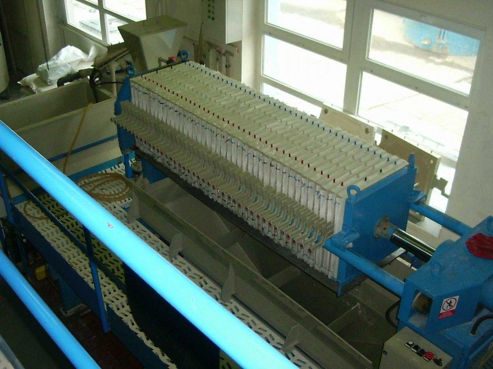 Výroba polyaluminiumchloridu<br />Úpravna vody Želivka.